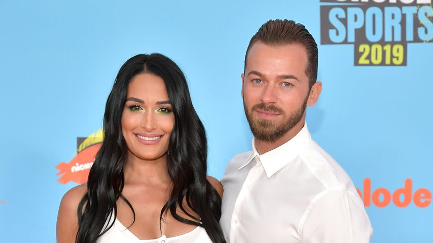 Nikki Bella und Artem Chigvintsev bei Kids' Choice Sports 2019