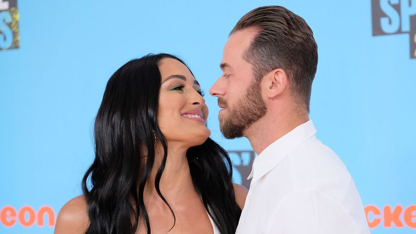 Nikki Bella und Artem Chigvintsev im Juli 2019 in Santa Monica
