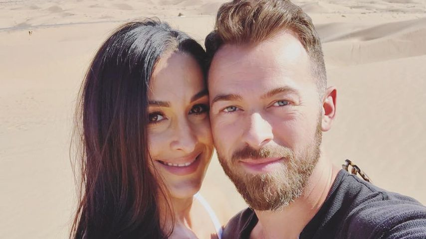 Nikki Bella und Artem Chigvintsev im März 2020
