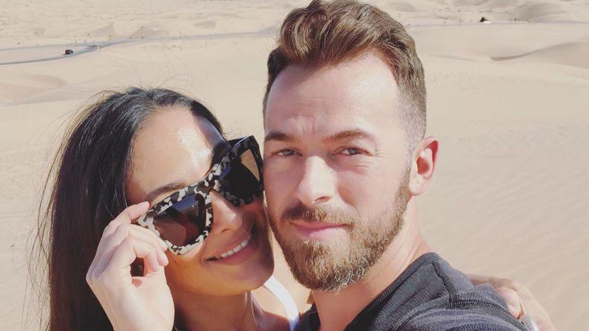 Nikki Bella mit ihrem Verlobten Artem, März 2020