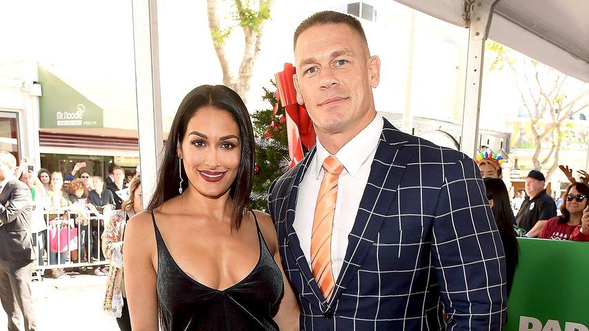 Nikki Bella und John Cena im November 2017