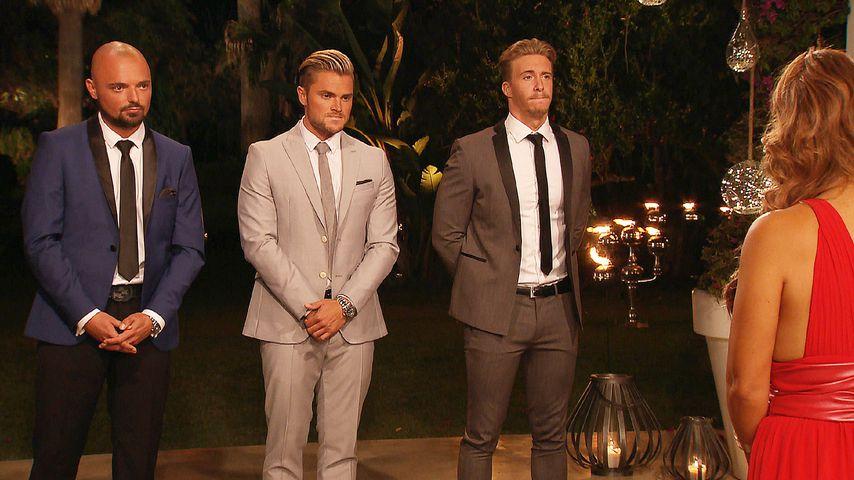 """""""Bachelorette""""-Kandidaten Niklas, Johannes und David im Finale"""