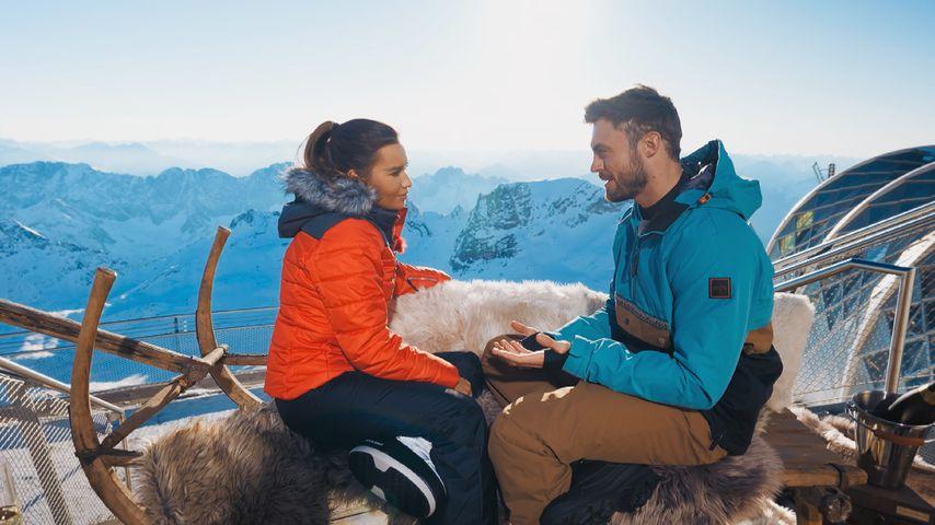 Niko Griesert und Karina Wagner bei einem Bachelor-Date