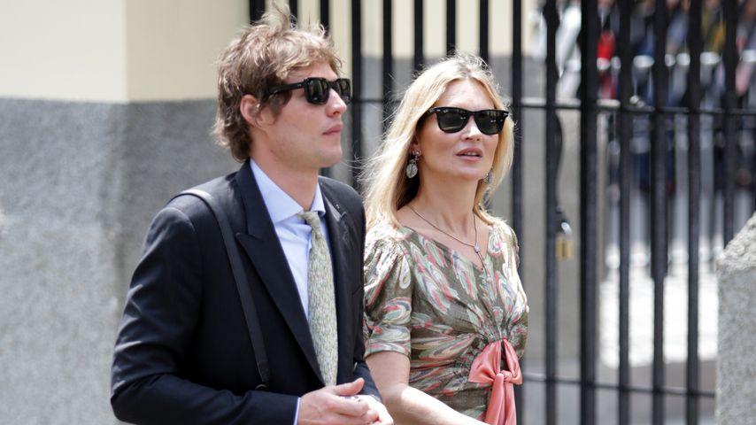 Nikolai von Bismarck und Kate Moss in Peru, 2016