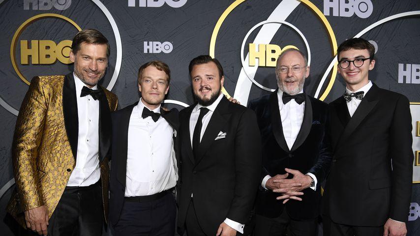 Nikolaj Coster-Waldau, Alfie Allen, John Bradley, Liam Cunningham und Isaac Hempstead-Wright