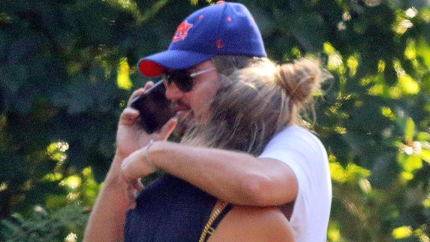 Nach Autounfall: So süß tröstet Leonardo DiCaprio seine Nina
