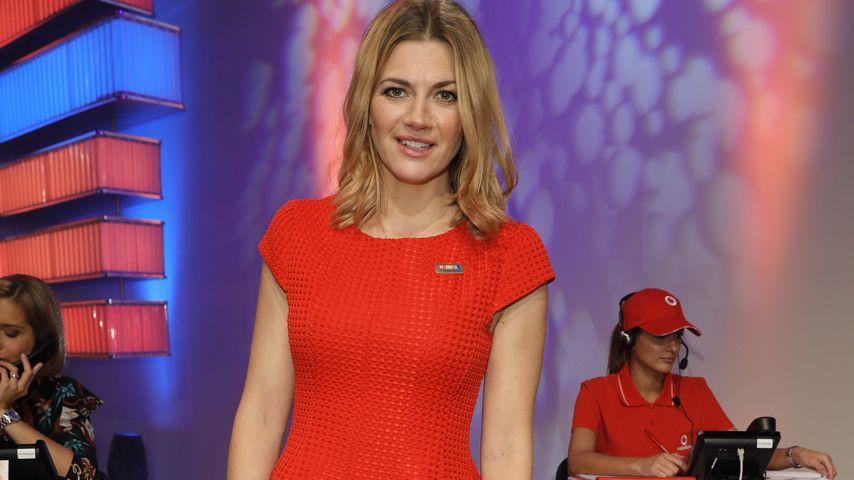 Nina Bott beim RTL Spendenmarathon