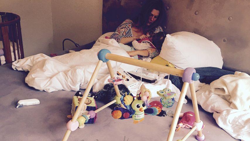 Krank mit Kind: So schlecht ging es Zweifachmama Nina Bott!