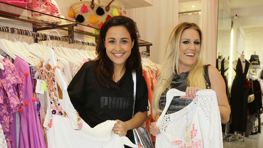"Nina Moghaddam & Cascada: BFF's durch ""Promi Shopping Queen"""