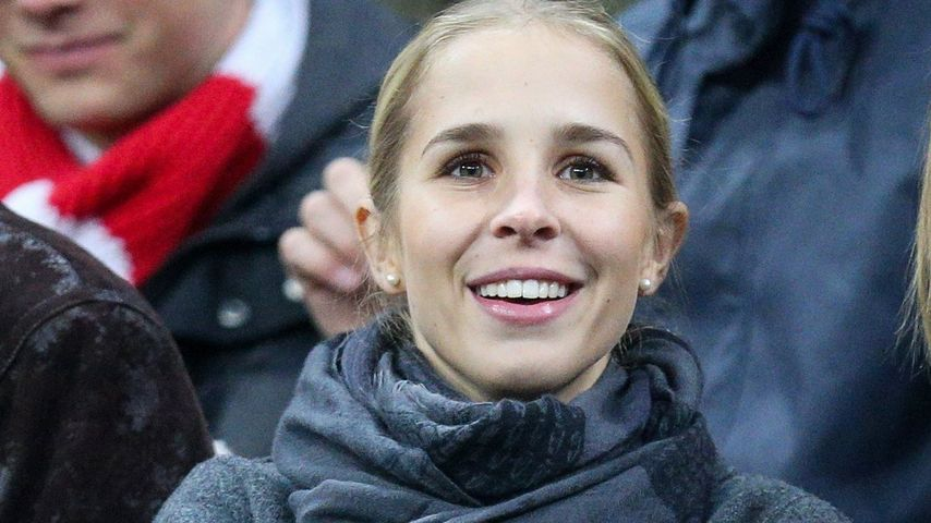 Nina Weiss in der Allianz Arena