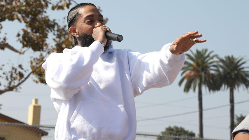 Rapper Nipsey Hussle, 2018