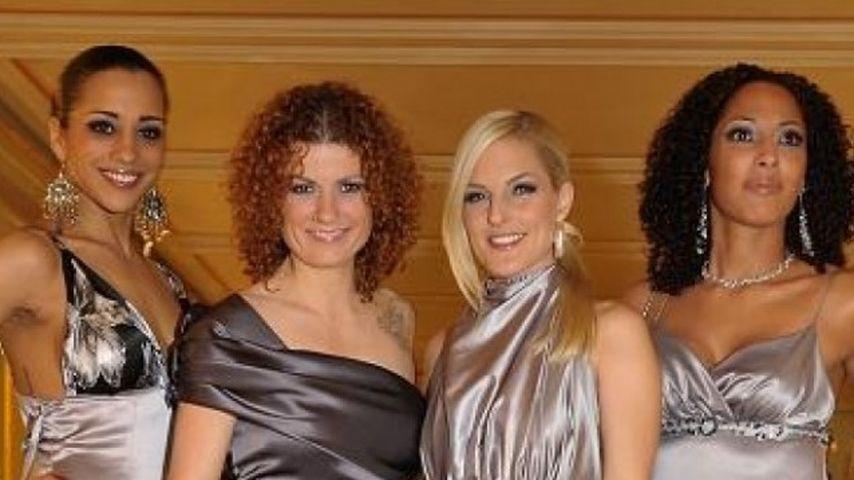 No Angels: Nadja Benaissa, Lucy Diakovska, Sandy Mölling und Jessica Wahls