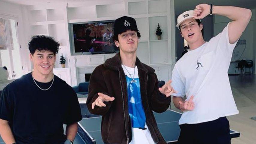Noah Beck, Bryce Hall und Blake Gray