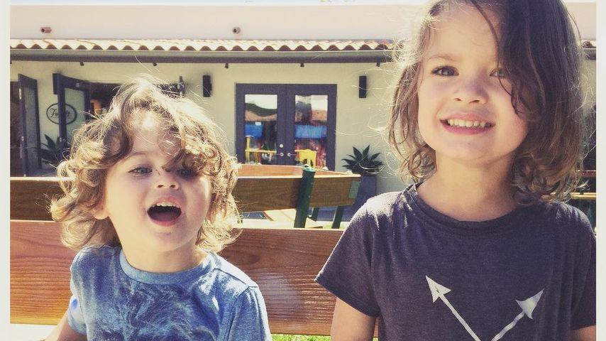 Noah Shannon Green und Bodhi Ransom Green, die Söhne von Megan Fox und Brian Austin Green