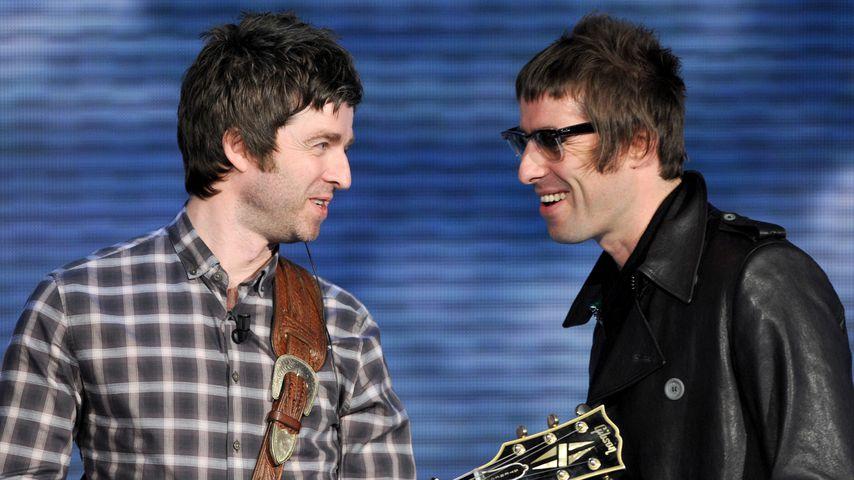 Noel und Liam Gallagher, Gründer von Oasis
