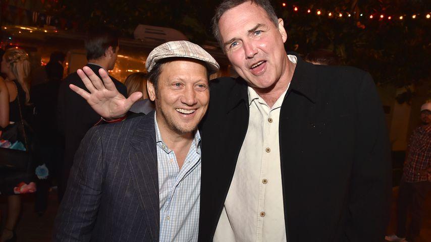 Norm McDonald und Rob Schneider im Juni 2015