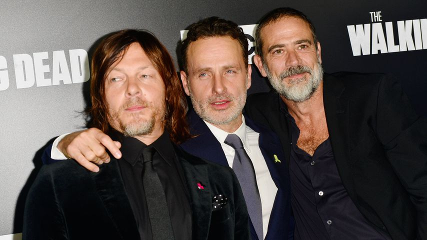 "Norman Reedus, Andrew Lincoln und Jeffrey Dean Morgan, ""The Walking Dead""-Staffelpremiere"