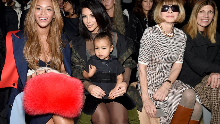 Kim Kardashian, North West und Anna Wintour