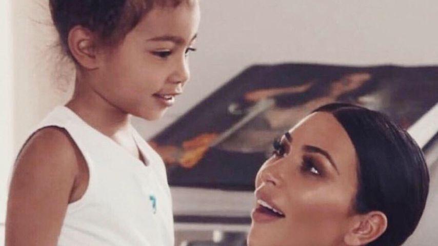 North West und Kim Kardashian, 2019