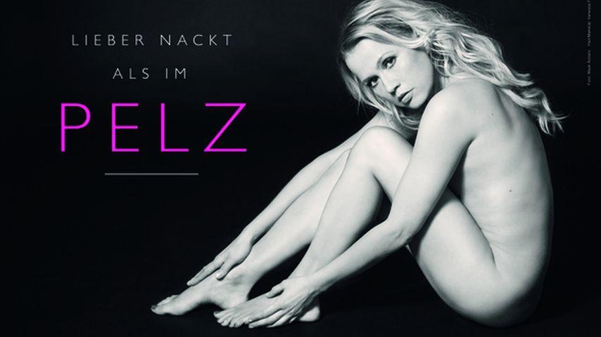 Nach 12 Jahren: Neues PETA-Nacktbild von Nova Meierhenrich