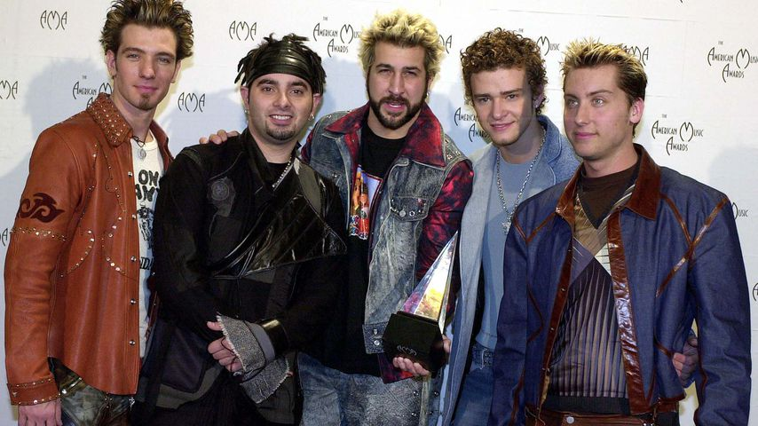 *NSync bei den American Music Awards 2001