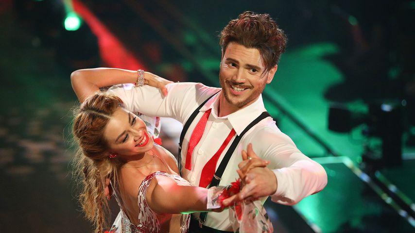 """Oana Nechiti und Bela Klentze tanzen Quickstep in der achten """"Let's Dance""""-Liveshow"""