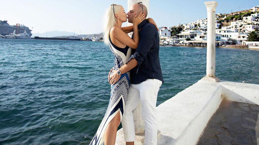 Oksana und Daniel Kolenitchenko im Sommer 2021
