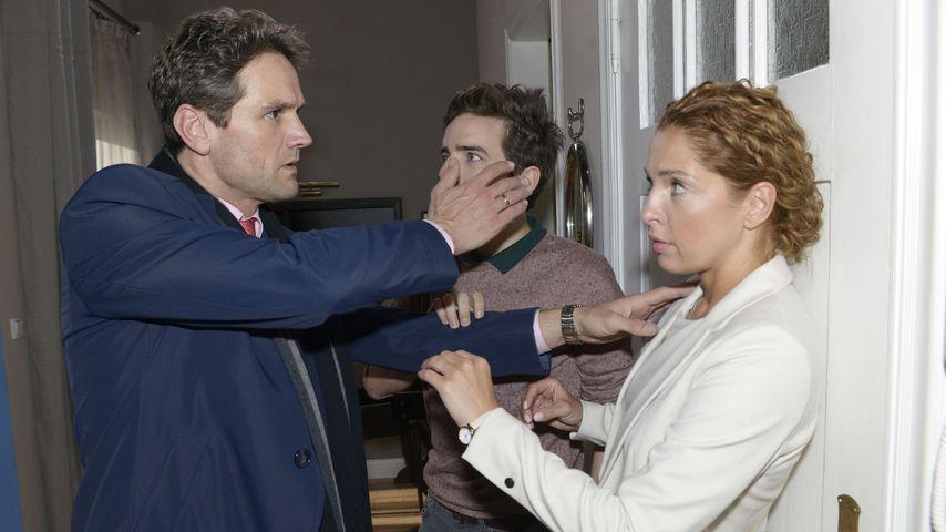 Oliver Franck, Maximilian Braun und Maria Wedig bei GZSZ