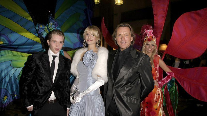Olivier Kern, Naomi Valeska und Otto Kern bei der Unesco Benefit Gala for Children 2008