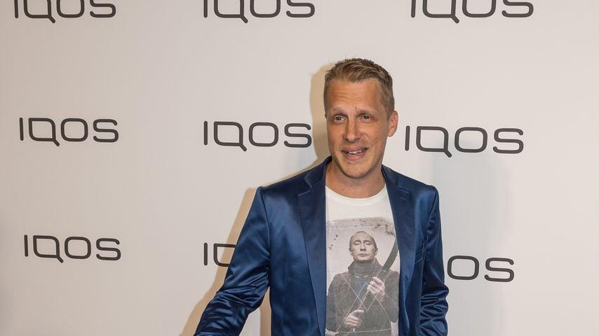 Oliver Pocher im Oktober 2019 in Frankfurt
