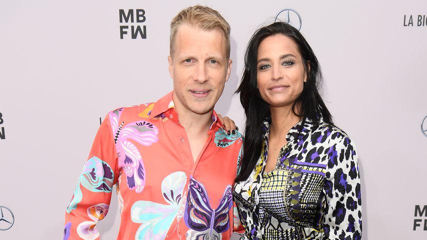 Oliver und Amira Pocher bei der Berlin Fashion Week