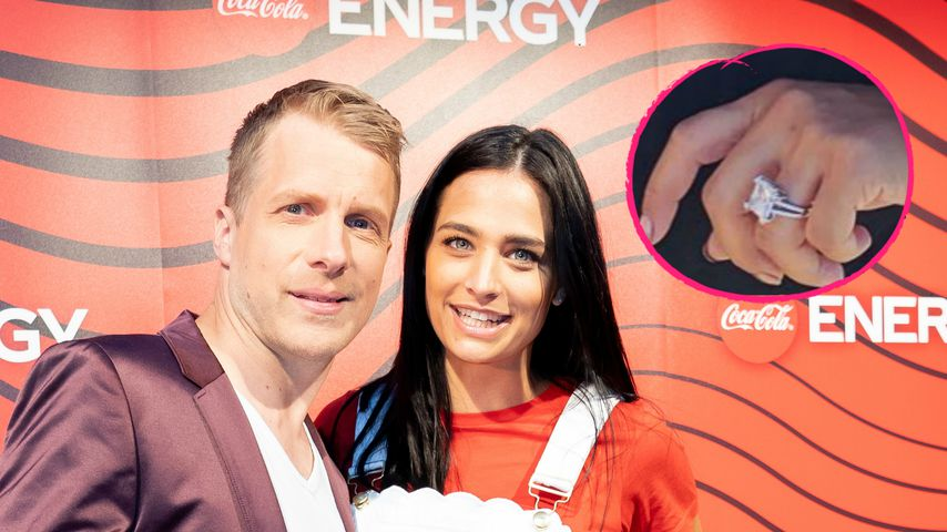 Riesiger Klunker: Sind Oliver Pocher und Amira Aly verlobt?