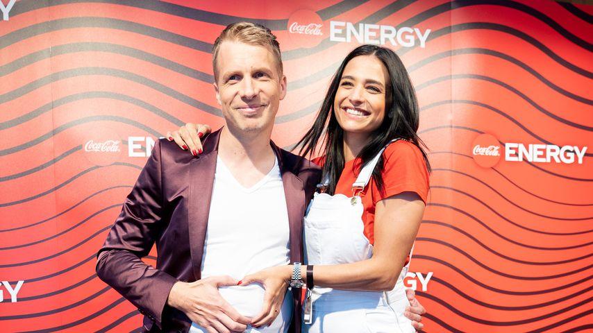 Oliver Pocher und seine Amira auf einem Coca-Cola-Event in Hamburg