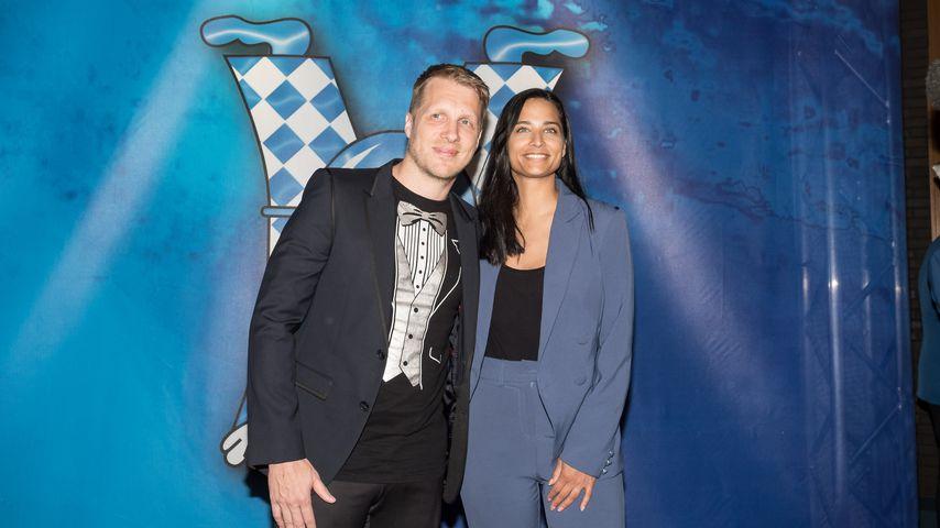 Oliver Pocher und Amira M. Aly bei der Premierengala der Lindener Narren in Hannover