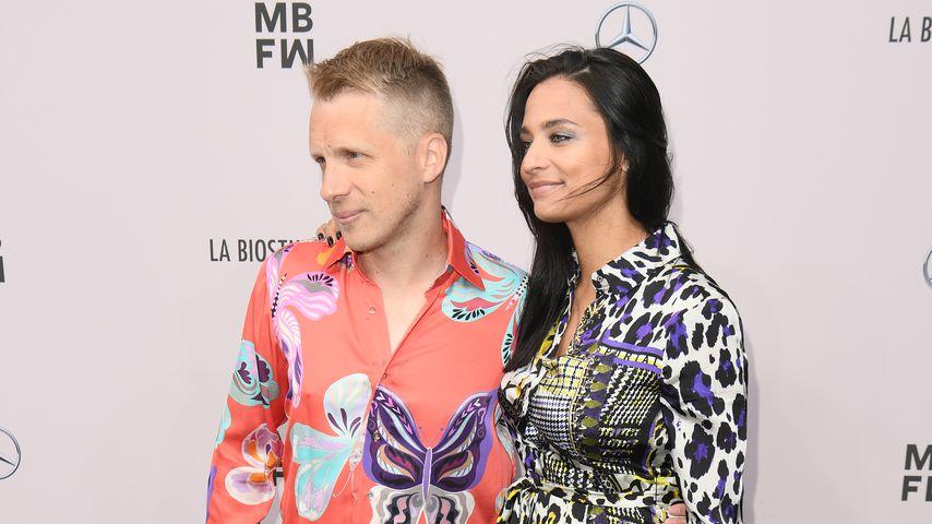 Oliver und Amira Pocher im Juli 2019