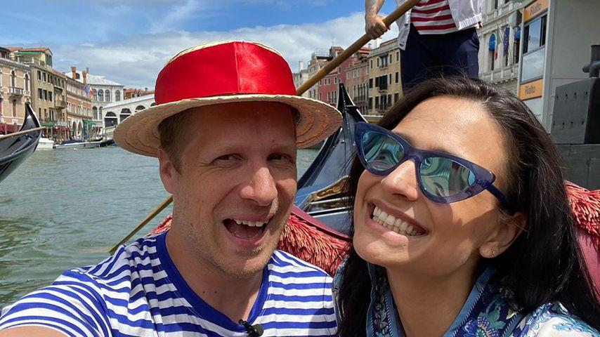Oliver Pocher und Amira Pocher, August 2020