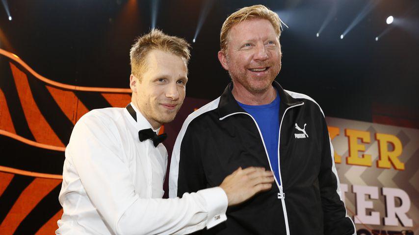 Oliver Pocher und Boris Becker bei TV-Show 2013