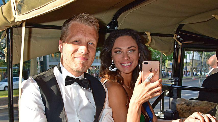 Comedian Oliver Pocher und Model Lilly Becker