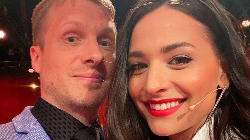 Oliver und Amira Pocher im Mai 2020