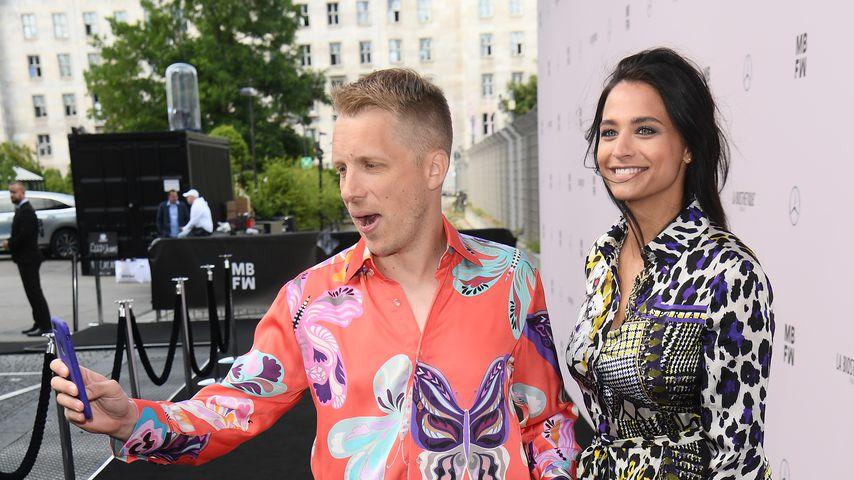 Oliver und Amira Pocher im Juli 2019 in Berlin