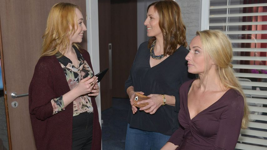 Eva Mona Rodekirchen, Ulrike Frank und Anna Juliana Jaenner