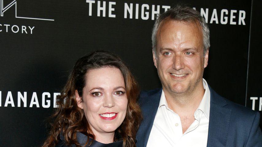 Olivia Colman und ihr Mann Ed Sinclair