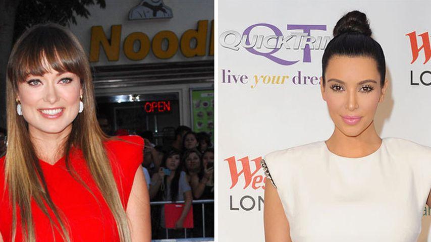 Wem steht's besser: Olivia oder Kim?