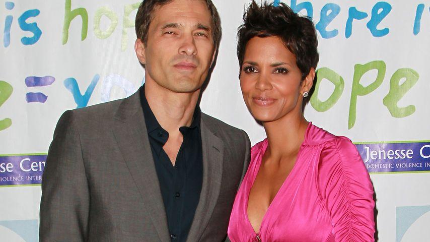 Olivier Martinez und Halle Berry im Jahr 2011