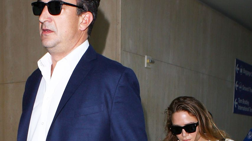 Olivier Sarkozy und Mary-Kate Olsen am Flughafen in L.A. 2016