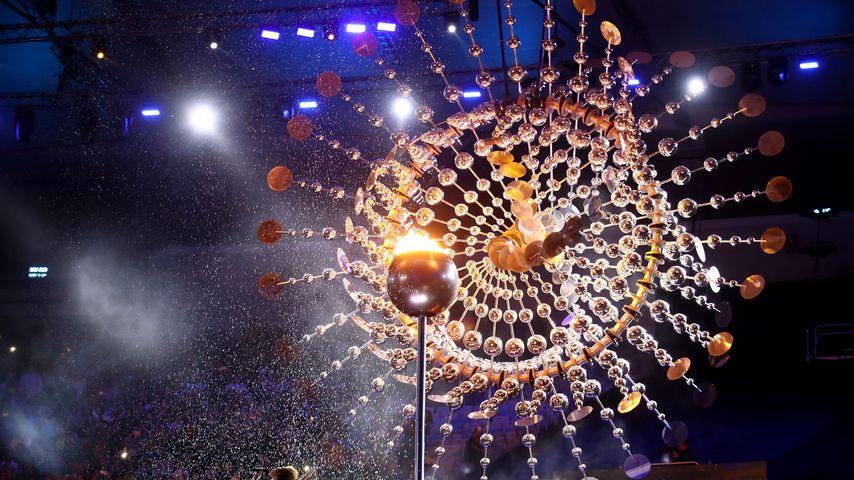Olympische Fackel in Rio