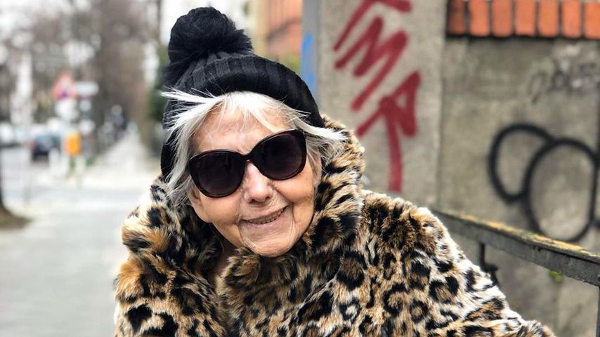 Oma Hedel im März 2020