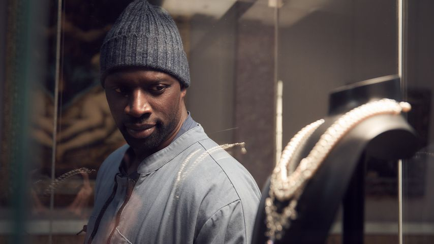 "Omar Sy in ""Lupin"""