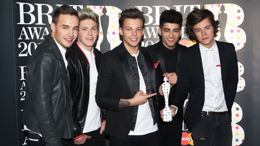 One Direction bei den Brit Awards 2013