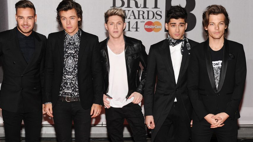One Direction bei den BritAwards 2014